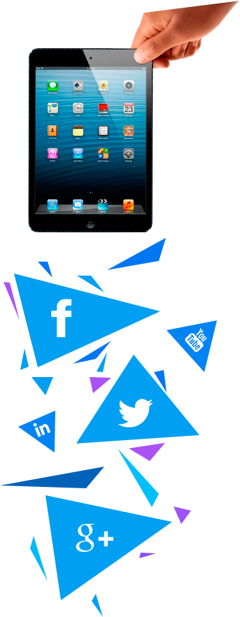 Development and creation mobile application and web application for Facebook and Vkontakte