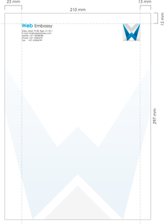 Development of corporate letterhead