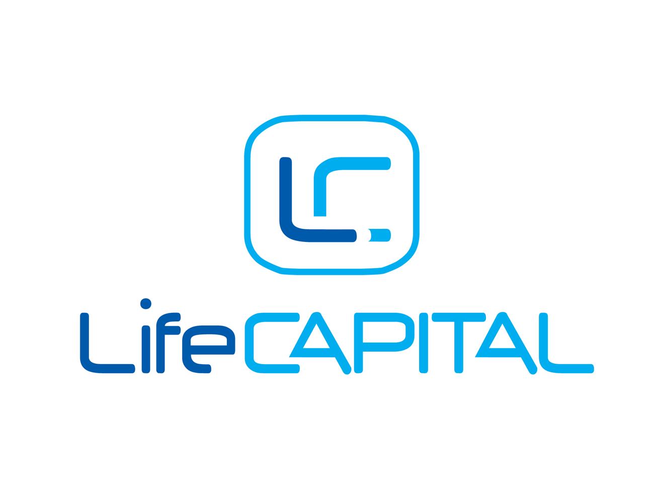 Создание логотипа для финансовой компании Life Capital. Современный, технологичный и развивающийся стиль