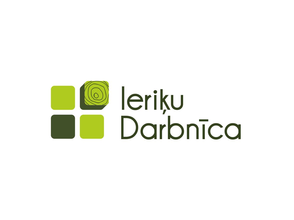 Создание дизайна логотипа для компании Ieriķu Darbnīca, логотип основан на ценностях и традициях компании