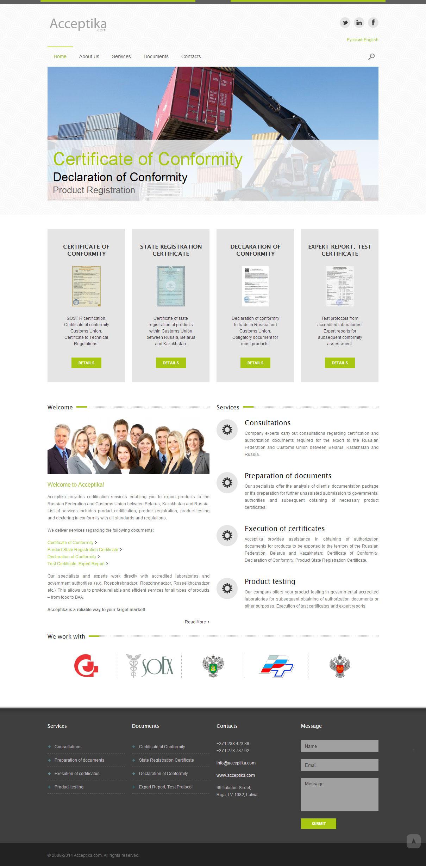 Веб-сайт для компании. Создание веб-дизайна и административной панели для сайта