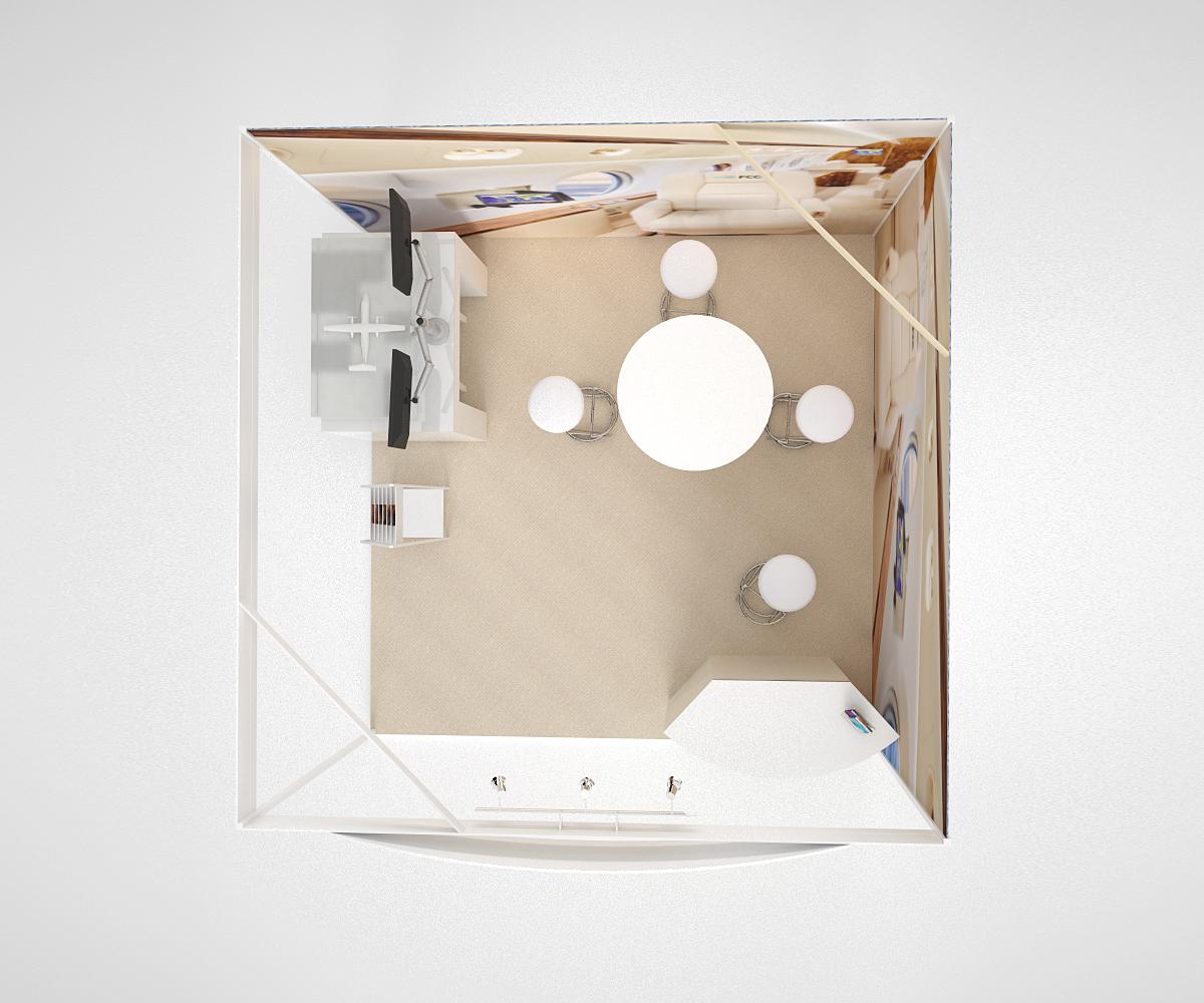 схема выставочного стенда, проектирование и создание